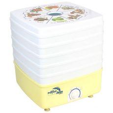 """Сушилка для овощей """"Ротор-Дива-Люкс"""" СШ-010, 5 поддонов, с вент., цв. упаковка"""