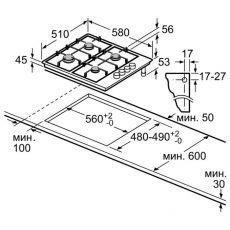 Варочная панель Bosch PBH6C5B95R