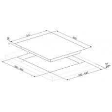 Варочная панель Smeg PV364LCN
