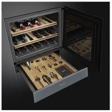 Встраиваемый винный шкаф Smeg CVI121S3