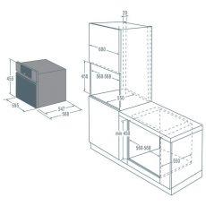 Встр. микроволновая печь Asko OM8464S
