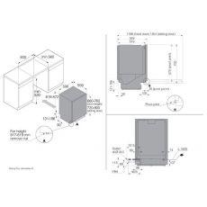 Посудомоечная машина Asko DSD433B/1