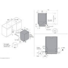 Посудомоечная машина Asko DFI645MB/1