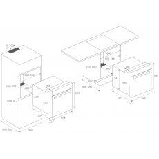 Электрический духовой шкаф Kuppersberg FZH 611 W