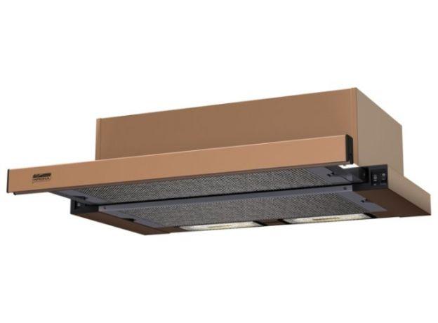 вытяжка kronasteel kamilla 600 brown/brown panel