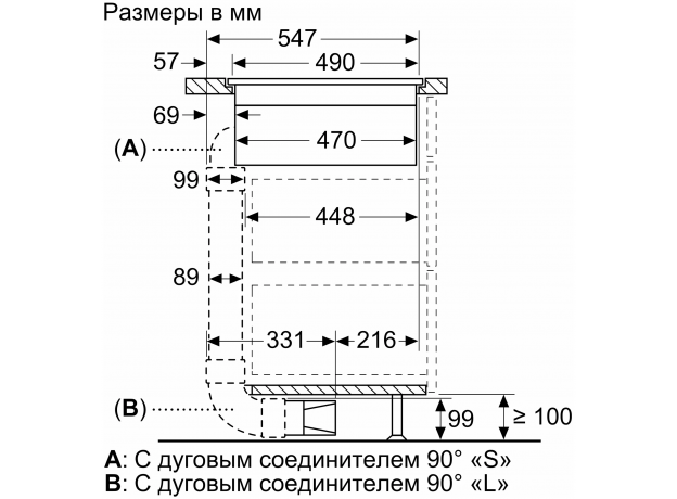 Индукционная варочная панель NEFF T47PD7BX2