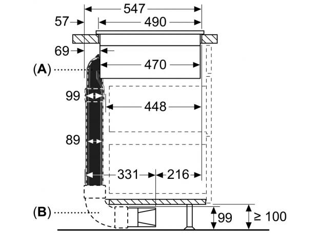 Индукционная варочная панель NEFF T58TL6EN2